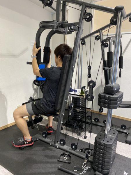 体力作りのトレーニング